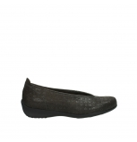 wolky slippers 00359 ballet 90220 nubuck anthracite
