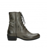 wolky bottines a lacets 00956 fortuna 30150 cuir taupe