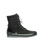 wolky bottines a lacets 02775 adams 13000 nubuck noir
