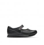 wolky chaussures a bride 05805 e step 20009 cuir stretch noir