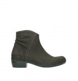 wolky bottines 00952 winchester 13305 nubuck marron fonce