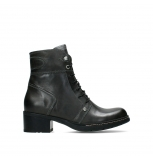 wolky bottines 01260 red deer 30210 cuir anthracite