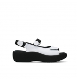 wolky sandales 03204 jewel 30100 cuir blanc