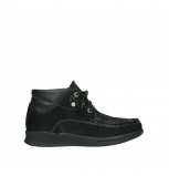wolky bottines a lacets 05903 three 10000 nubuck stretch noir