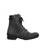 wolky bottines 07640 partizan 40210 anthracite suede