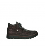 wolky chaussures a lacets 02326 rap 43510 daim metal bordo