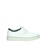 wolky chaussures a lacets 02327 vic summer 20108 cuir blanc bleu