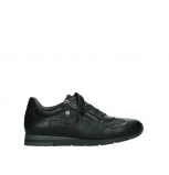 wolky chaussures a lacets 02525 yell 21000 cuir noir