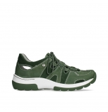 wolky chaussures a lacets 03028 nortec 11720 nubuck vert mousse