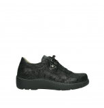 wolky chaussures a lacets 03250 fantasy 43000 suede noir