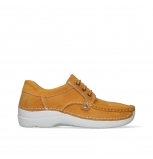wolky chaussures a lacets 06289 seamy up 11550 nubuck orange