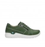 wolky chaussures a lacets 06609 feltwell 11720 nubuck vert