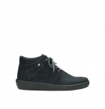 wolky chaussures a lacets 08126 babylon 50800 nubuck bleu