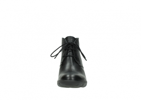 wolky bottines a lacets 03675 bighorn 30002 cuir noir_19