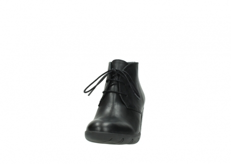 wolky bottines a lacets 03675 bighorn 30002 cuir noir_20