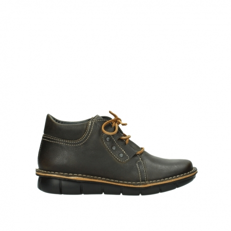 wolky bottines a lacets 08395 tara 50733 cuir vert