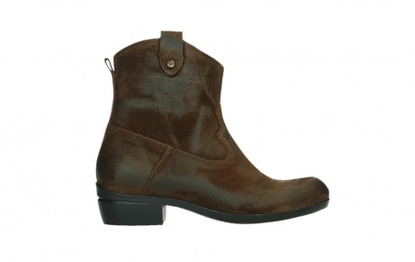 wolky bottines 00960 finley 45410 suede tobacco_1