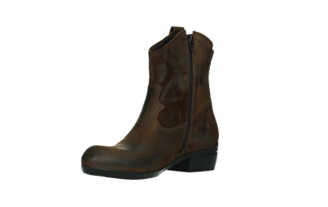 wolky bottines 00960 finley 45410 suede tobacco_10