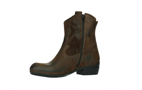 wolky bottines 00960 finley 45410 suede tobacco_11