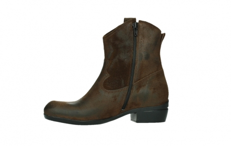 wolky bottines 00960 finley 45410 suede tobacco_12