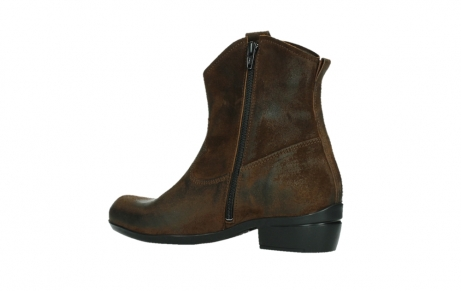 wolky bottines 00960 finley 45410 suede tobacco_15