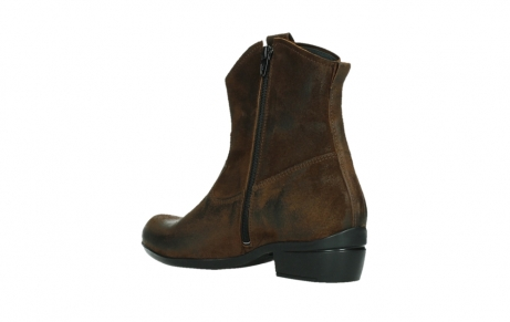 wolky bottines 00960 finley 45410 suede tobacco_16