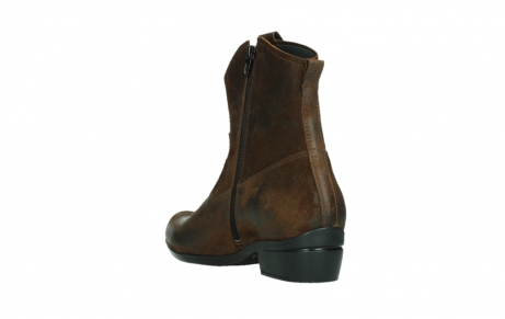 wolky bottines 00960 finley 45410 suede tobacco_17