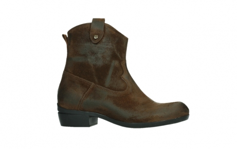 wolky bottines 00960 finley 45410 suede tobacco_2