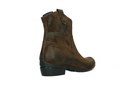 wolky bottines 00960 finley 45410 suede tobacco_22