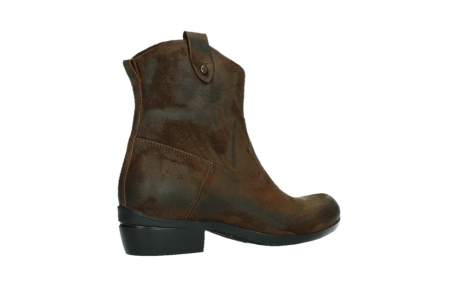 wolky bottines 00960 finley 45410 suede tobacco_23