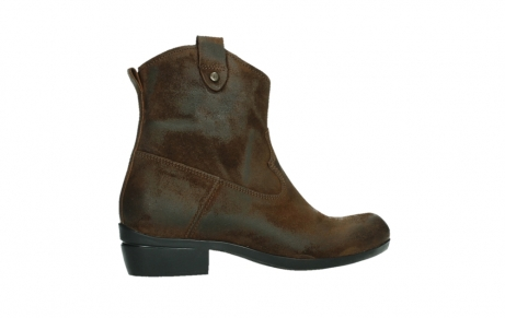 wolky bottines 00960 finley 45410 suede tobacco_24