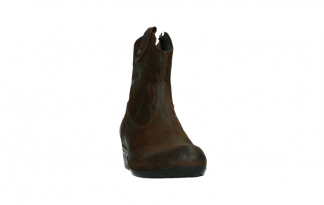 wolky bottines 00960 finley 45410 suede tobacco_6