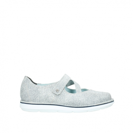 wolky chaussures a bride 08478 limestone 49122 blanc casse gris