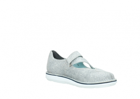 wolky chaussures a bride 08478 limestone 49122 blanc casse gris_16
