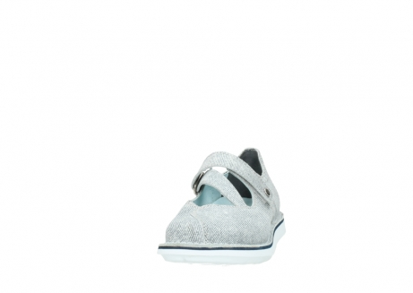 wolky chaussures a bride 08478 limestone 49122 blanc casse gris_20
