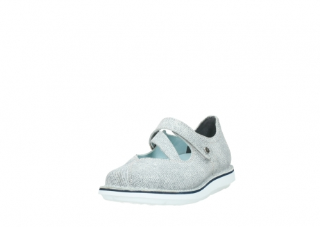 wolky chaussures a bride 08478 limestone 49122 blanc casse gris_21