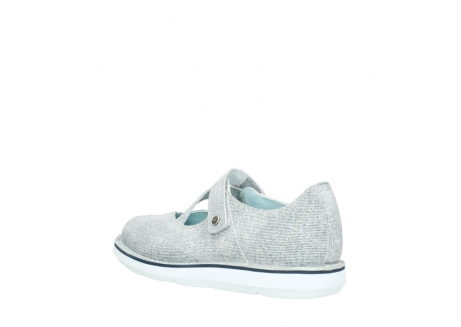 wolky chaussures a bride 08478 limestone 49122 blanc casse gris_4