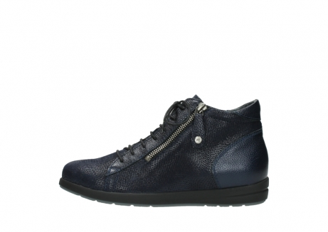 wolky bottines 02423 gravity 78800 combi cuir bleu_1