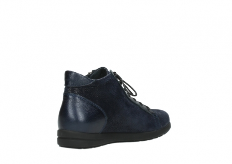 wolky bottines 02423 gravity 78800 combi cuir bleu_10