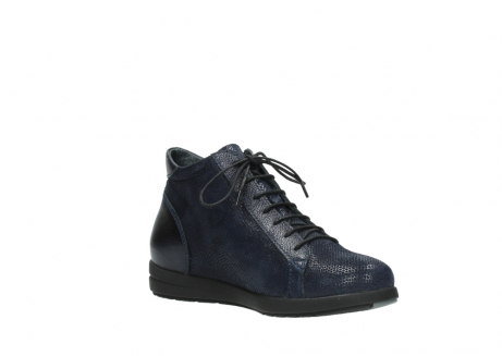 wolky bottines 02423 gravity 78800 combi cuir bleu_16