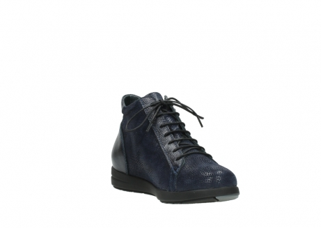 wolky bottines 02423 gravity 78800 combi cuir bleu_17