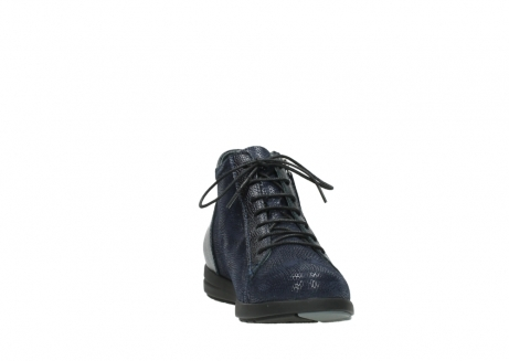 wolky bottines 02423 gravity 78800 combi cuir bleu_18
