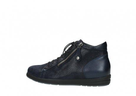 wolky bottines 02423 gravity 78800 combi cuir bleu_2