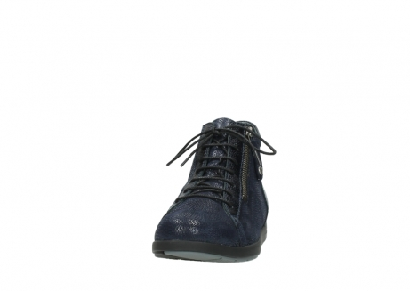 wolky bottines 02423 gravity 78800 combi cuir bleu_20