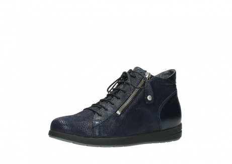 wolky bottines 02423 gravity 78800 combi cuir bleu_23