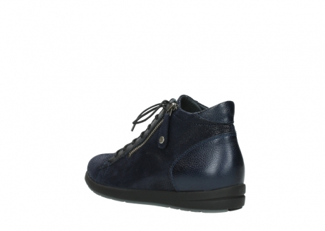 wolky bottines 02423 gravity 78800 combi cuir bleu_4