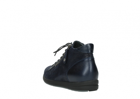 wolky bottines 02423 gravity 78800 combi cuir bleu_5