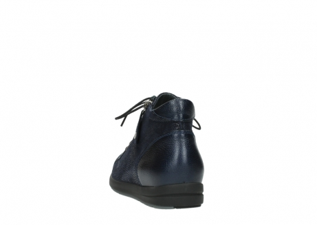 wolky bottines 02423 gravity 78800 combi cuir bleu_6