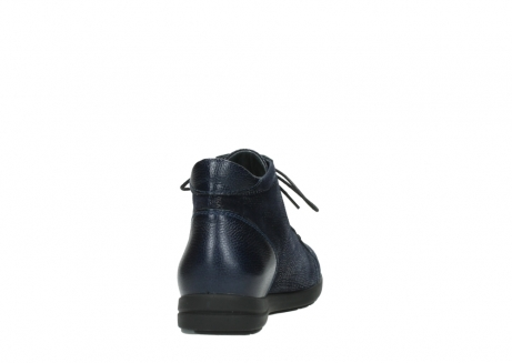 wolky bottines 02423 gravity 78800 combi cuir bleu_8