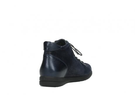 wolky bottines 02423 gravity 78800 combi cuir bleu_9